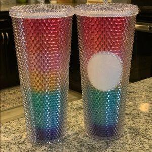 NWT Starbucks Rainbow Pride studded Tumbler